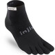 Injinji Run Mini-Crew Xtralife - Calcetines Running Hombre - negro